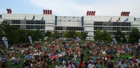 Discovery Green Crowd
